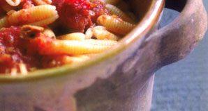 Gnocchetti Sardi con Sugo di Salsiccia e Pomodoro